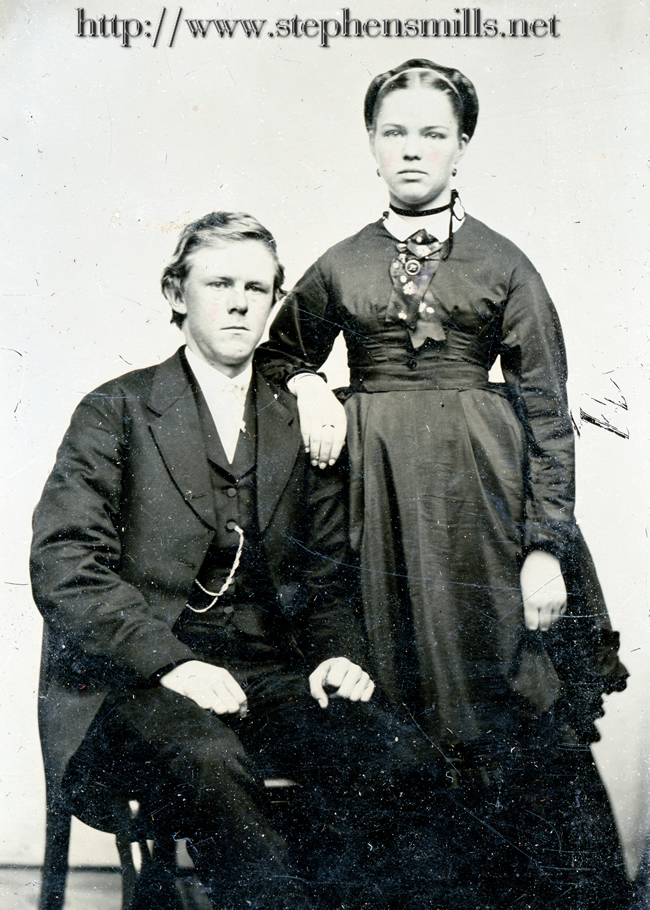 photo Early photo of Herbert Bacon and Alice Hathaway Bacon