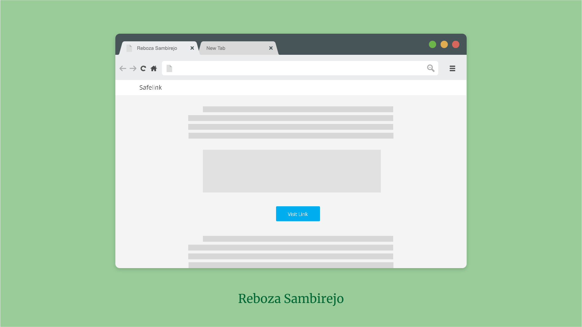best safelink blogger template template