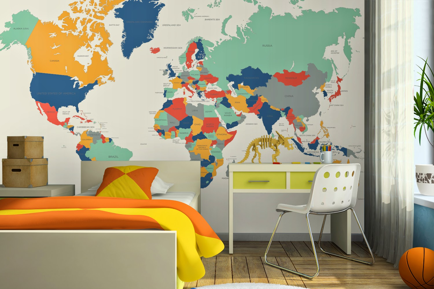 Introducing you to Murals Wallpaper - Bakes, Books And My Boys