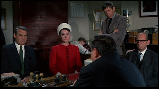 Charade - Cary Grant, Audrey Hepburn, Walter Matthau, James Coburn, and Ned Glass