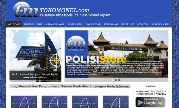 Toko Mebel Jepara - Verifikasi Toko Online Aman dan Terpercaya - Polisi Store