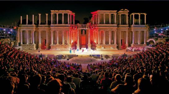 Imagen del Festival Internacional de Teatro Clásico de Mérida
