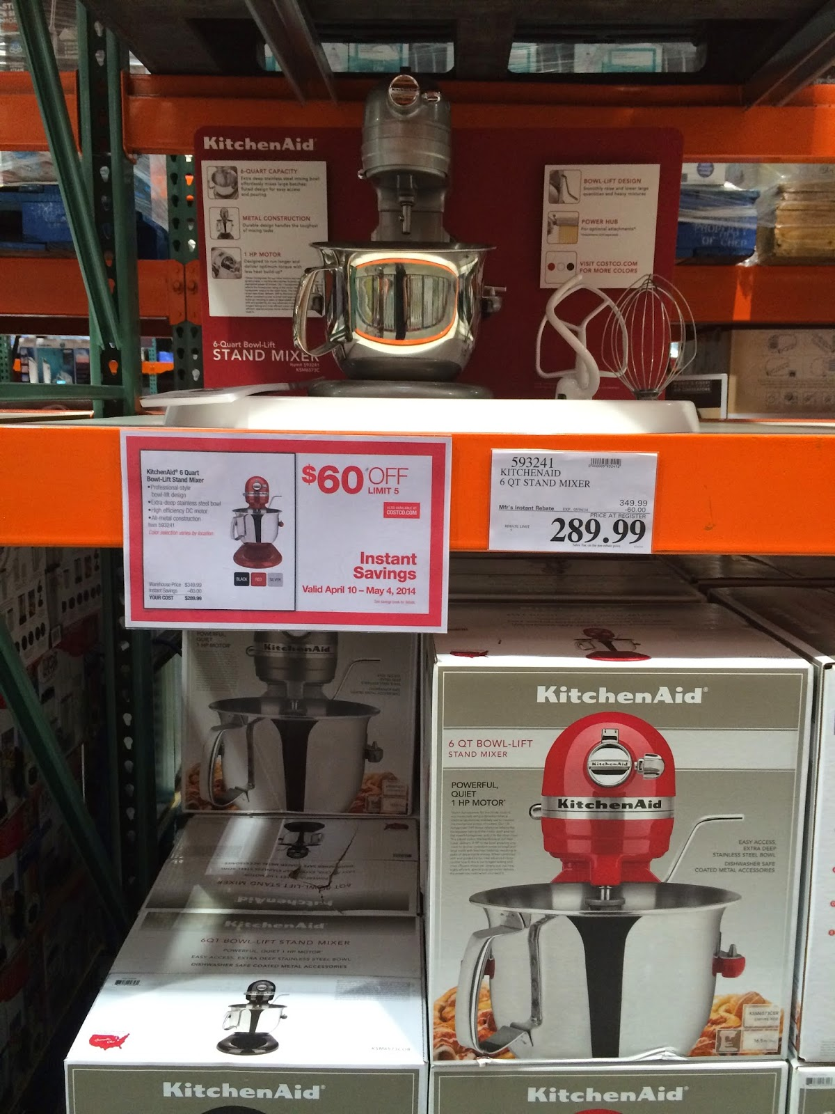 The Costco Connoisseur Cooks Illustrated Recommendations At Costco with The Most Stylish  Costco Kitchen Aid Mixer for House