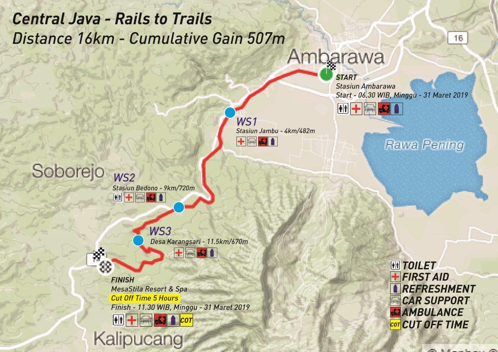 MesaStila Rails to Trails 16K • 2021