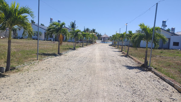 ảnh thực tế 165m2 đất trong khu nghỉ dưỡng happy garden Hồ Tràm