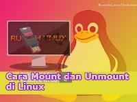 Cara Mount dan Unmount di Linux