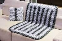 Manta de crochê faça você mesma