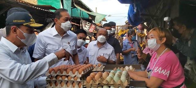 Mendag Janji akan Revitalisasi Pasar  Kapuas  Belawan