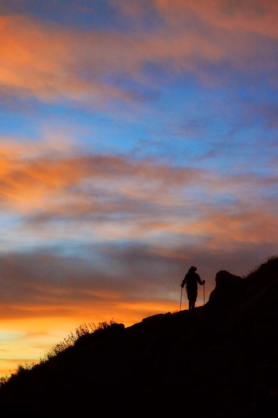 hiking photograph, sunset, nature, photography, Sarah Venema, Colorado photographer