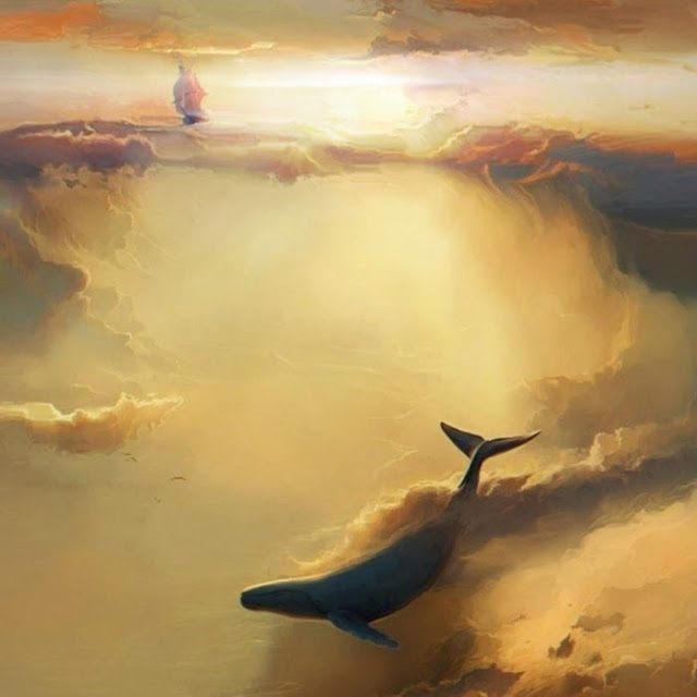 Flying Whales 2 Wallpaper Engine