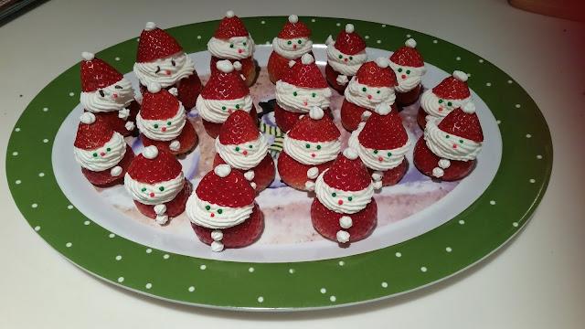 Mini jagoda Djed Mraz - RECEPT