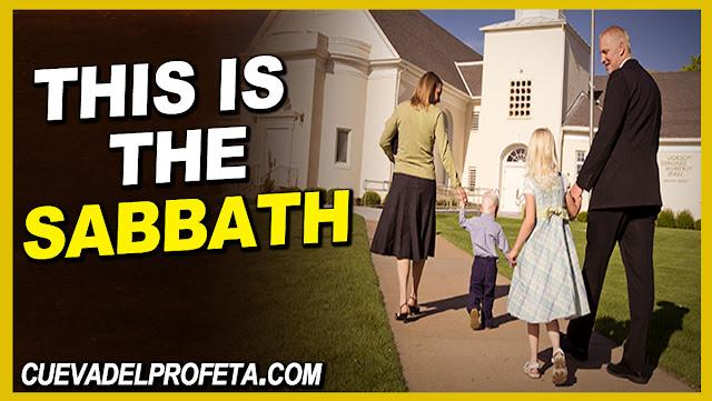 This is the sabbath - William Marrion Branham Quotes