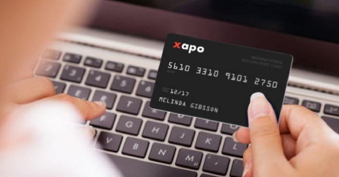 Xapo's Bitcoin Debit Card