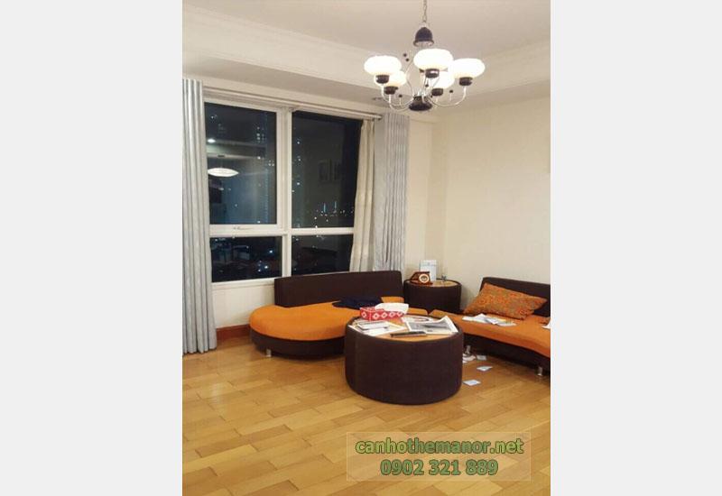 Cho thuê căn hộ The Manor HCM diện tích 83m2