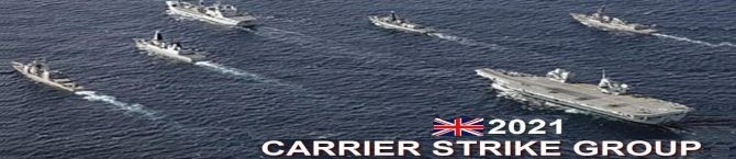 UK Carrier Strike Group Will Sail To India On Its Maiden Deployment