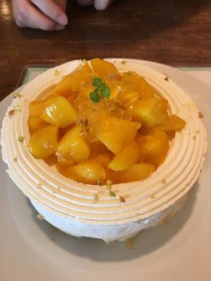 セバスチャンのマンゴーのショートケーキ