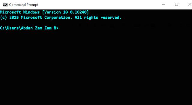 Cara Mengakses MySql  Melalui Command Prompt