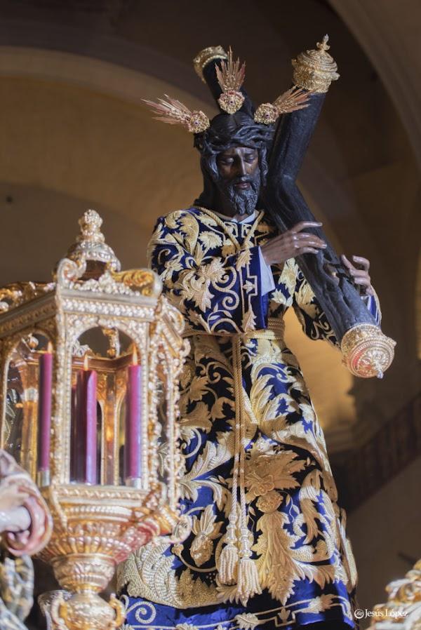 Horario e Itinerario Vía Crucis Oficial de Sevilla 2020 con Nuestro Padre Jesús de la Salud (Los Gitanos)