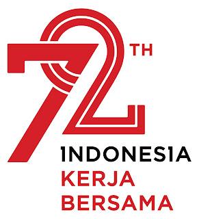 Logo resmi HUT RI 2017