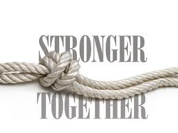 Michael Harrison's e-devotion: stronger together