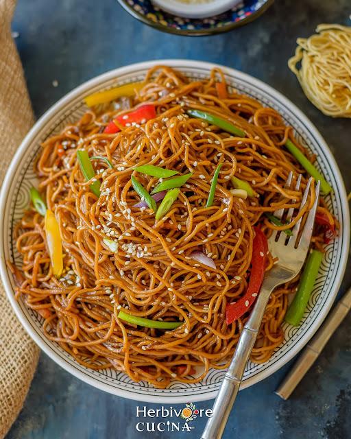 Instant Pot Teriyaki Noodles