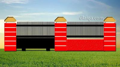 tampak luar dengan gerbang