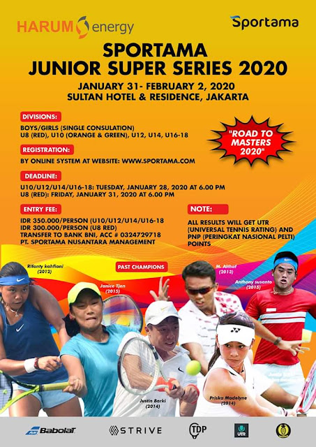 Sportama Junior Super Series 2020