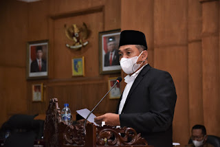Rapat Paripurna DPRD Batu Bara, Bupati Sampaikan Ranperda  Keuangan APBD T.A 2022