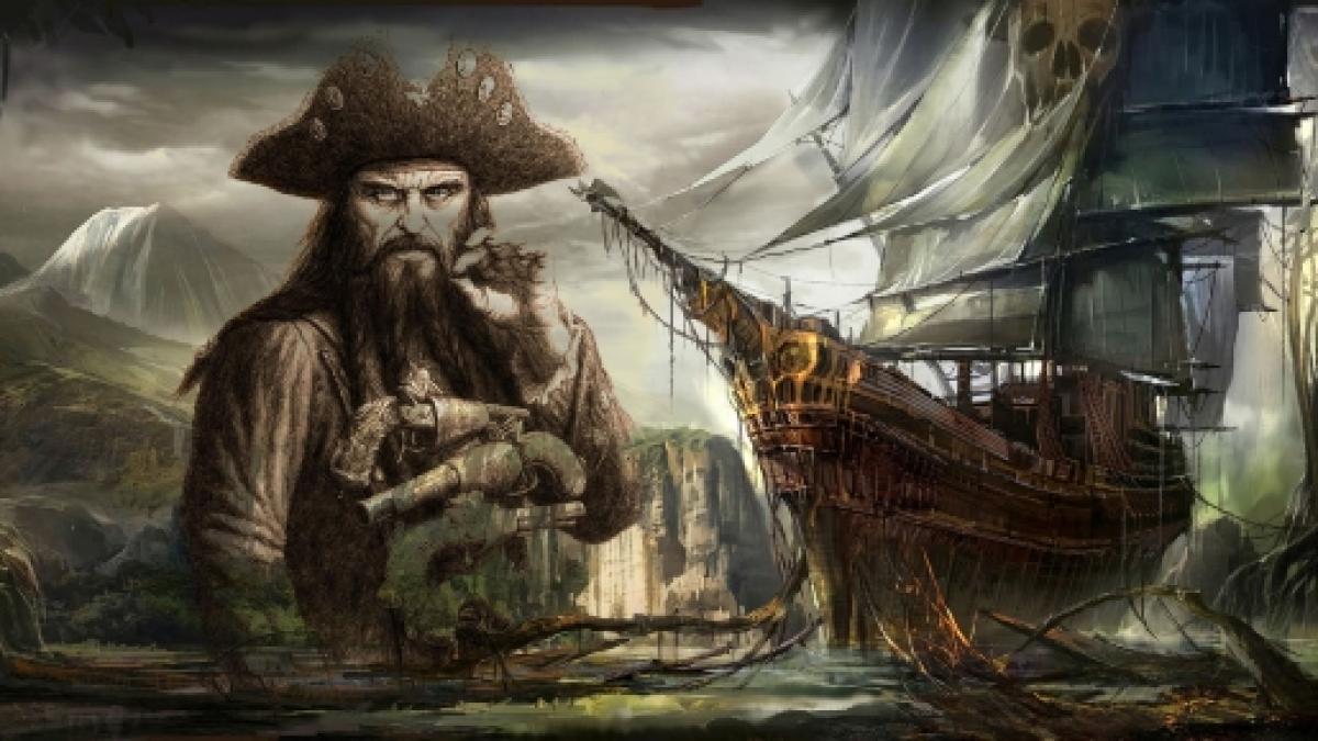 Blackbeard, Pirate, Ship