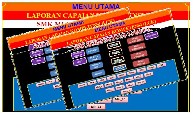 Aplikasi Rapor KTSP SMK Gratis