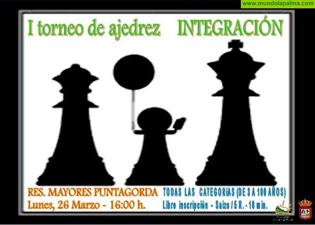 I Torneo de Ajedrez Integración en Puntagorda