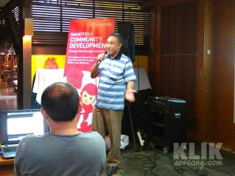 Head of Network Special Projector Smartfren, Munir Syahda Prabowo