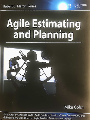 "Buchcover: Mike Cohn ""Agile Estimating and Planning"""