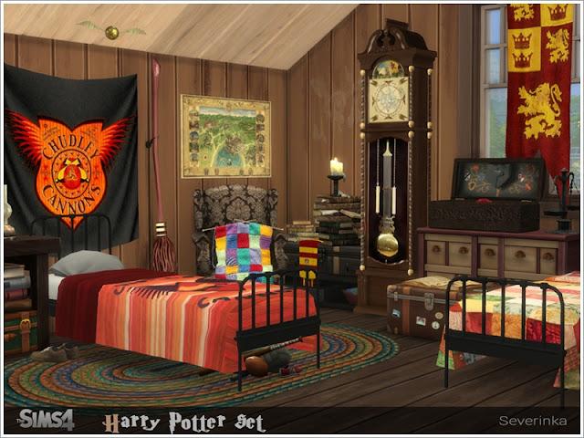 Магия и колдовство — наборы мебели и декора для Sims 4 со ссылками для скачивания