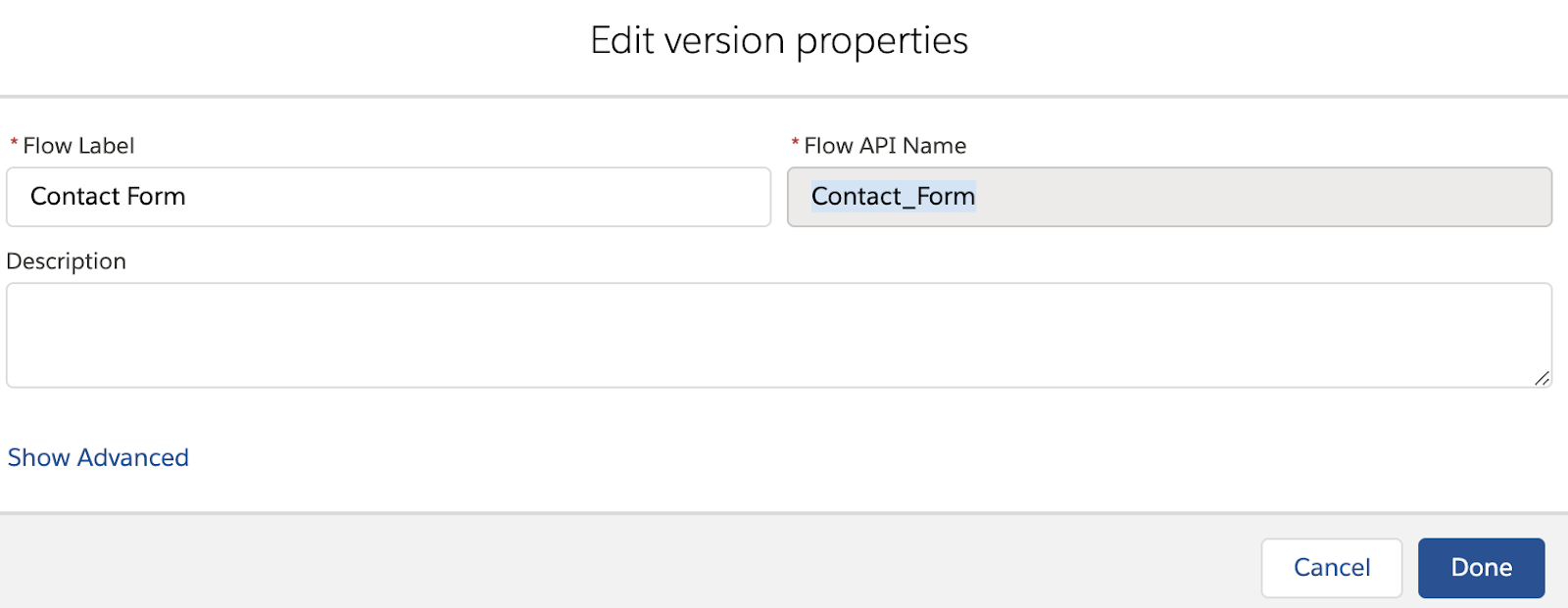 Run Flows from URL and Set Input Variables