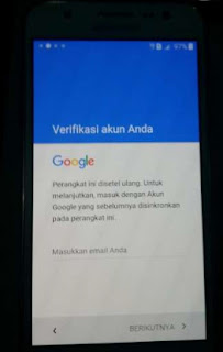 atasi samsung minta verifikasi akun google