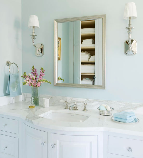 Modern French Bathroom: To Da Loos: French Inspired Master Bathroom