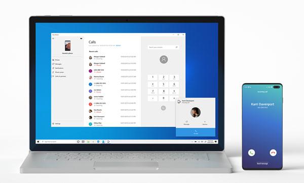 Menerima Panggilan Telepon di Laptop PC dengan Aplikasi Microsoft Your Phone