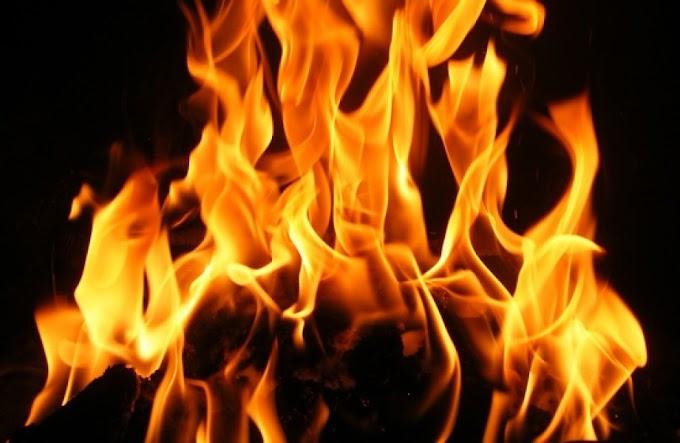 Tűz volt a Felsőzsolcai Ipari Parkban