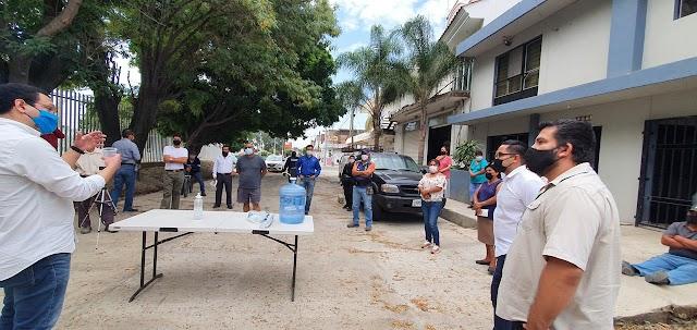 Gobierno del Estado refrenda búsqueda de diálogo con vecinos de las colonias Miramar y Paraísos del Colli.