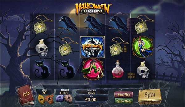 Main Slot Gratis Indonesia - Halloween Fortune (Playtech)