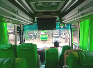 Posisi Kursi Bus Medium, Denah Kursi Bus Medium, Kursi Bus 31 Seat