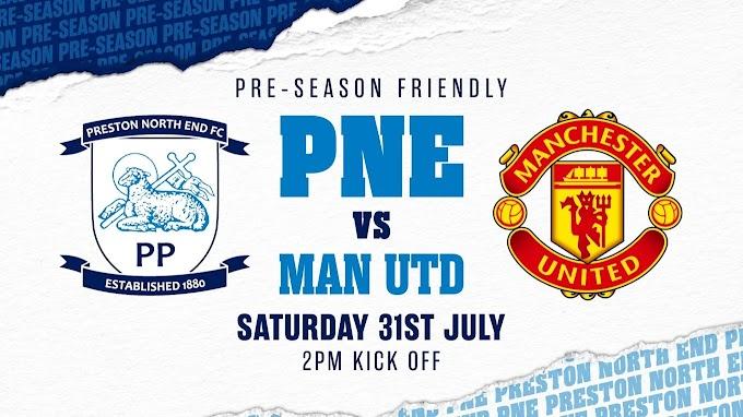 Watch Preston North VS Manchester United Matche Live