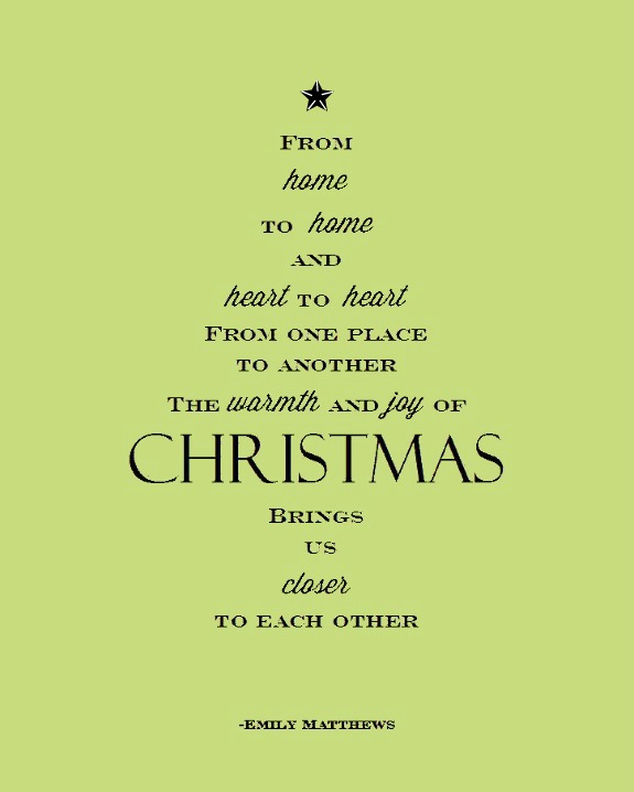 Poem About A Christmas Tree