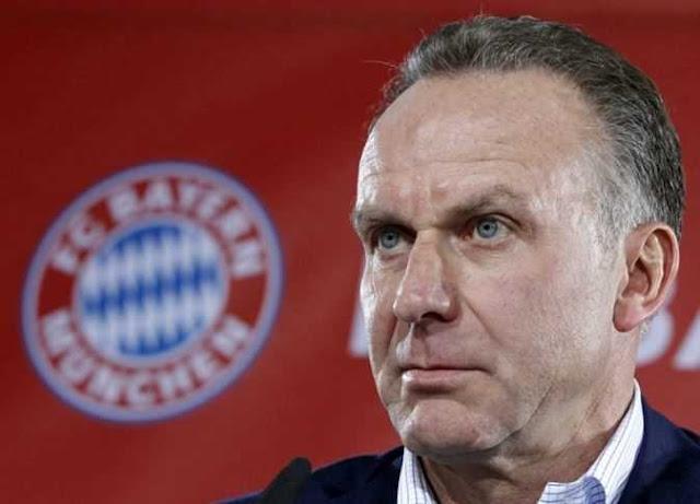 رئيس بايرن ميونيخ يتمسك باستكمال الدوري الألماني رغم أنف كورونا