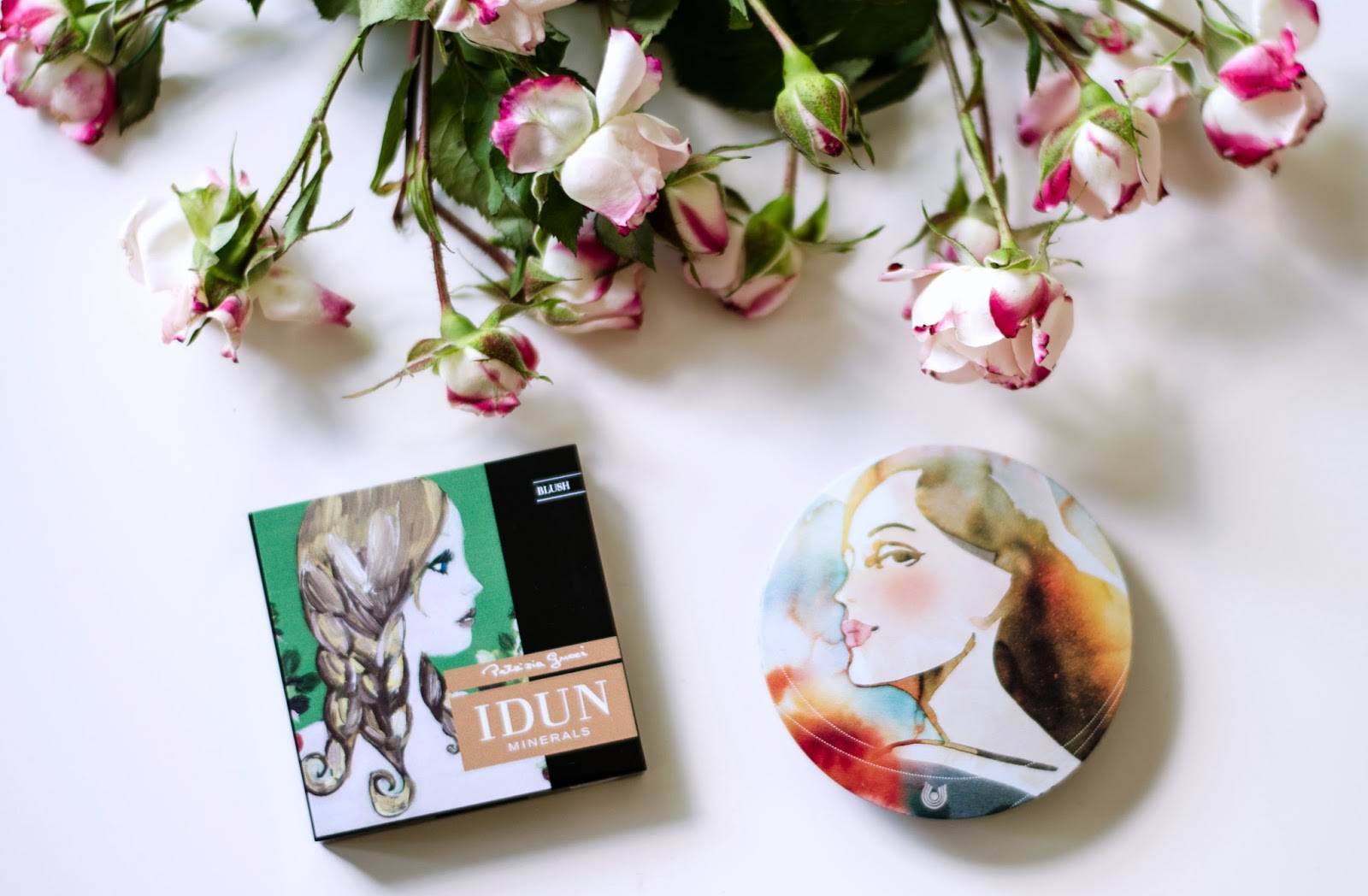 natural make up idun minerals blush dr hauschka bronzer