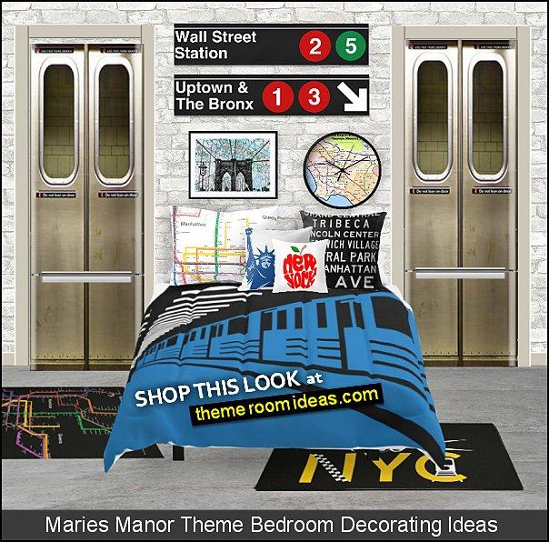 New York Subway  bedroom decorating ideas city bedroom, decorating ideas