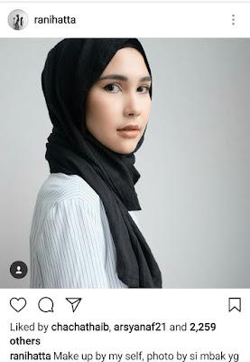makeup look rani hatta