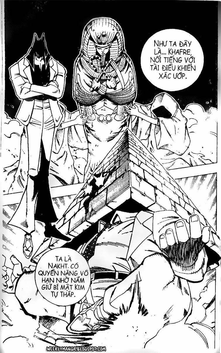 Shaman King [Vua pháp thuật] chap 121 trang 8