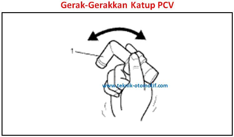 cara memeriksa dan membersihkan katup pcv